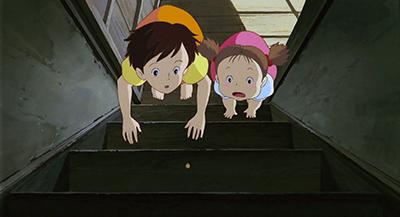 My Neighbor Totoro Mei Kusakabe Ghosts upstairs?