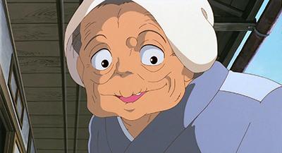 My Neighbor Totoro Kanta's Grandmother Keep smiling