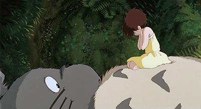 My Neighbor Totoro Satsuki Kusakabe protect her