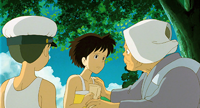 My Neighbor Totoro Kanta's Grandmother Not the end