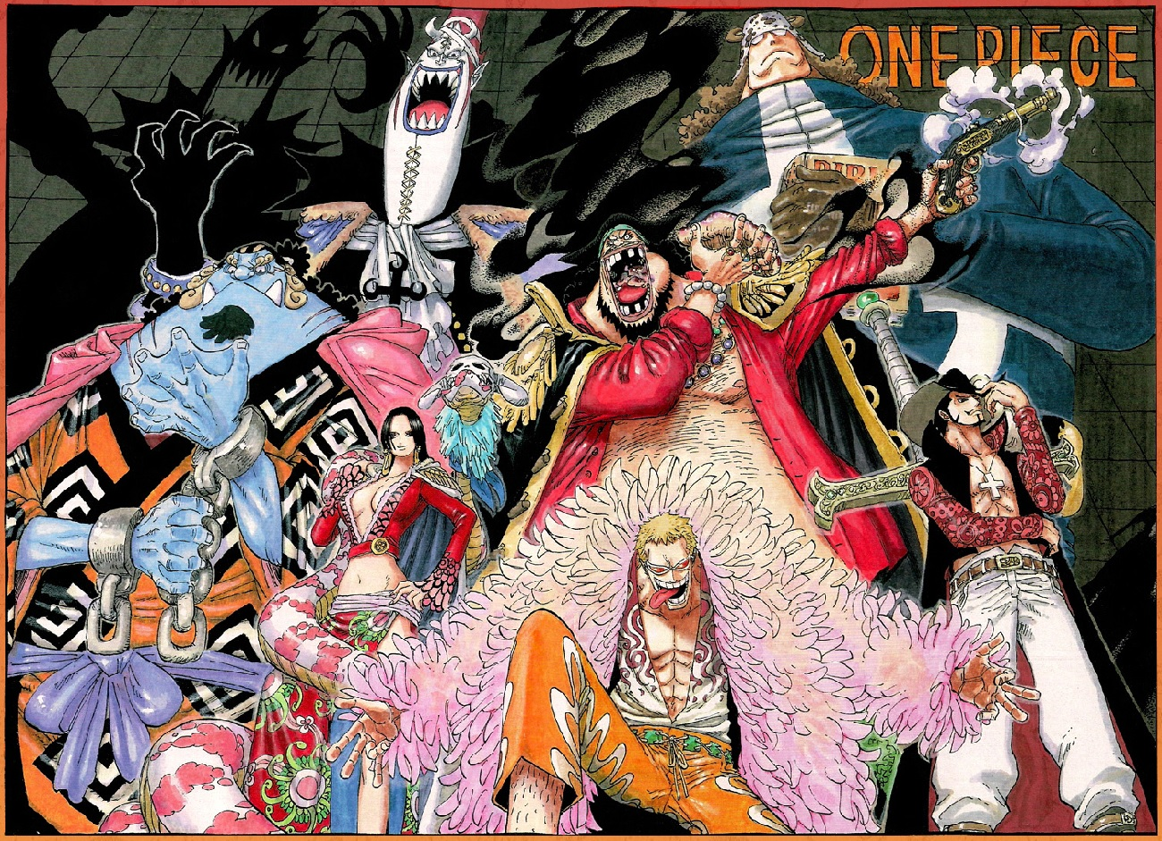 One Piece Pre-Timeskip Shichibukai Warlords