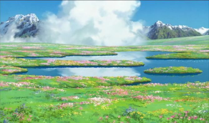 Howl no Ugoku Shiro music flowers