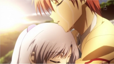 Angel Beats! Yuzuru Otonashi and Kanade Tachibana