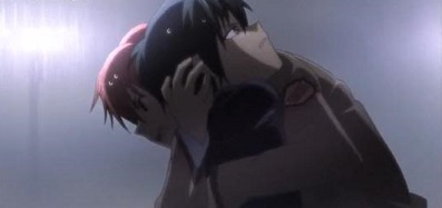 Angel Beats! Yuzuru Otonashi and Ayato Naoi