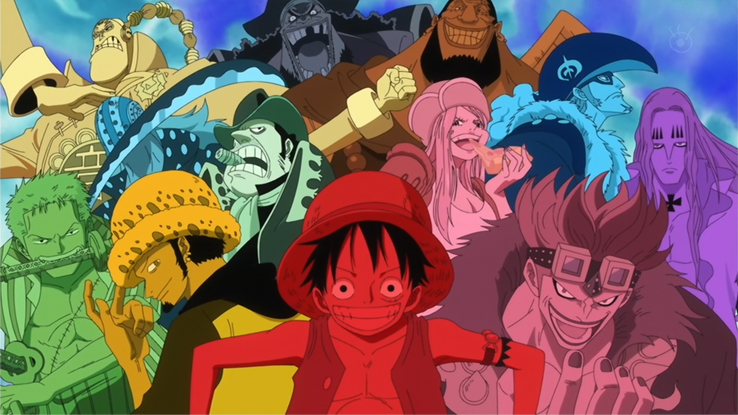 One Piece - Supernovas