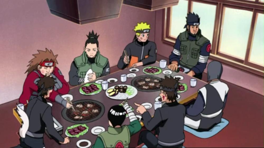 Naruto - Yakiniku, Team Might Guy