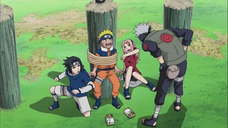 Naruto Kakashi Sasuke Sakura