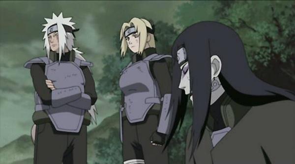 Naruto third gen