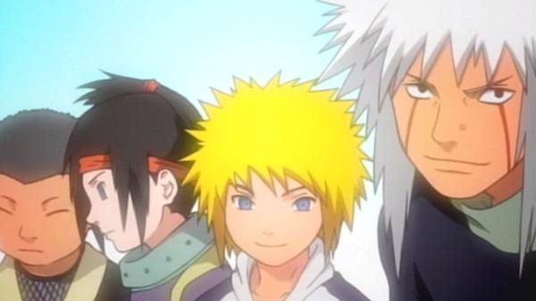 Naruto fourth gen
