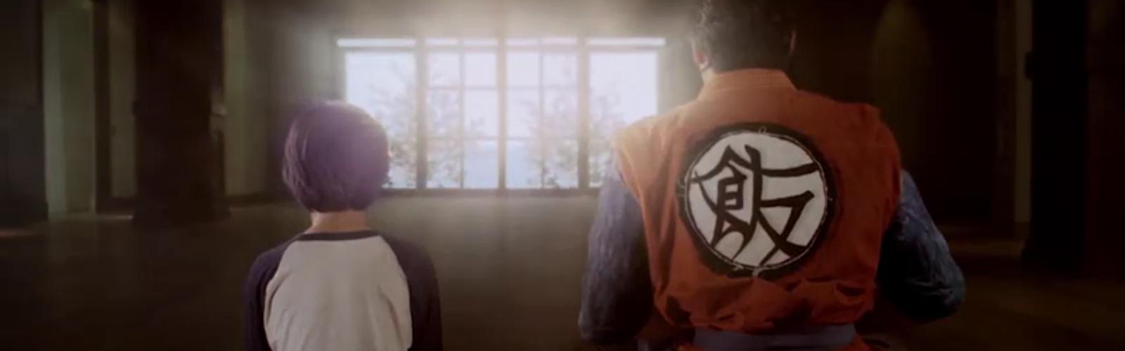 Dragon Ball Z Trunks and Gohan Light of Hope