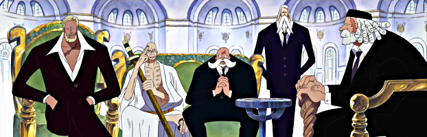 All Five Elder Stars of the Gorosei