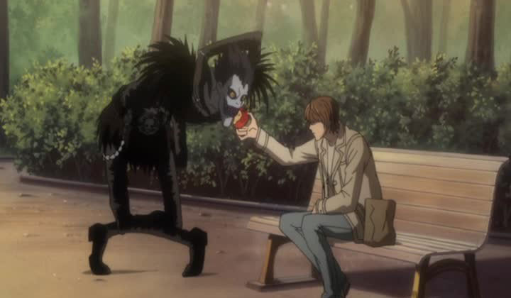Death Note Ryuk Light Yagami