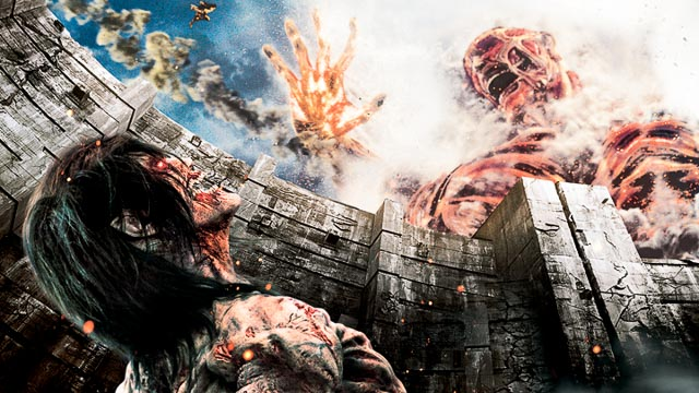 Attack on Titan end of the world titan battle