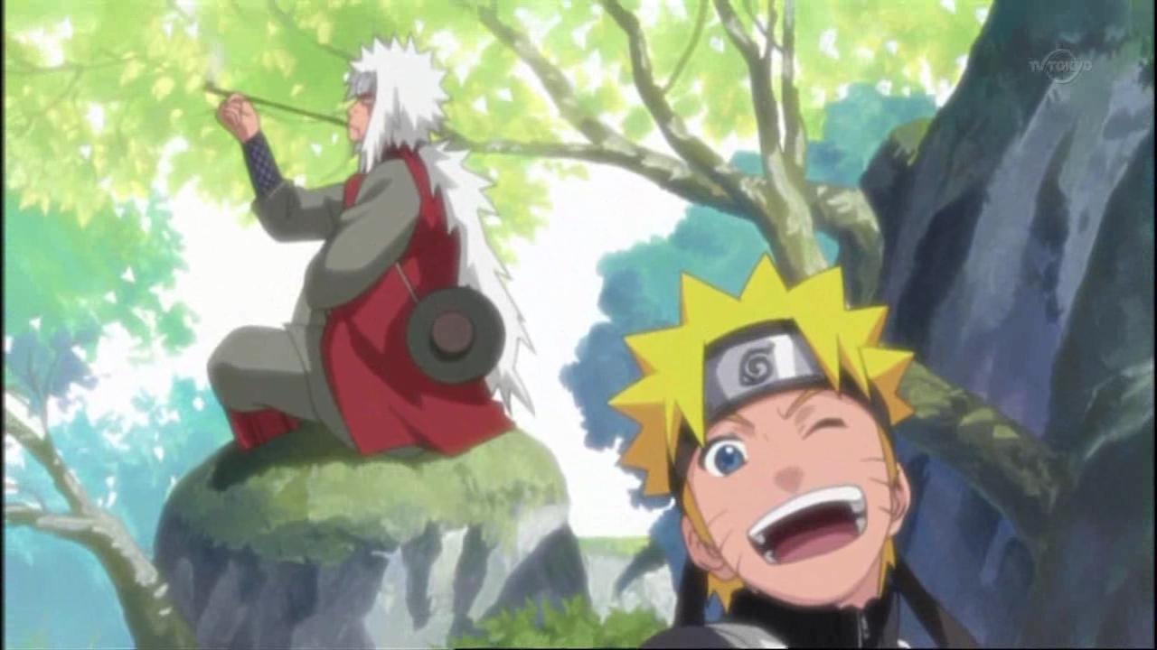 Naruto Jiraiya & Naruto Uzumaki