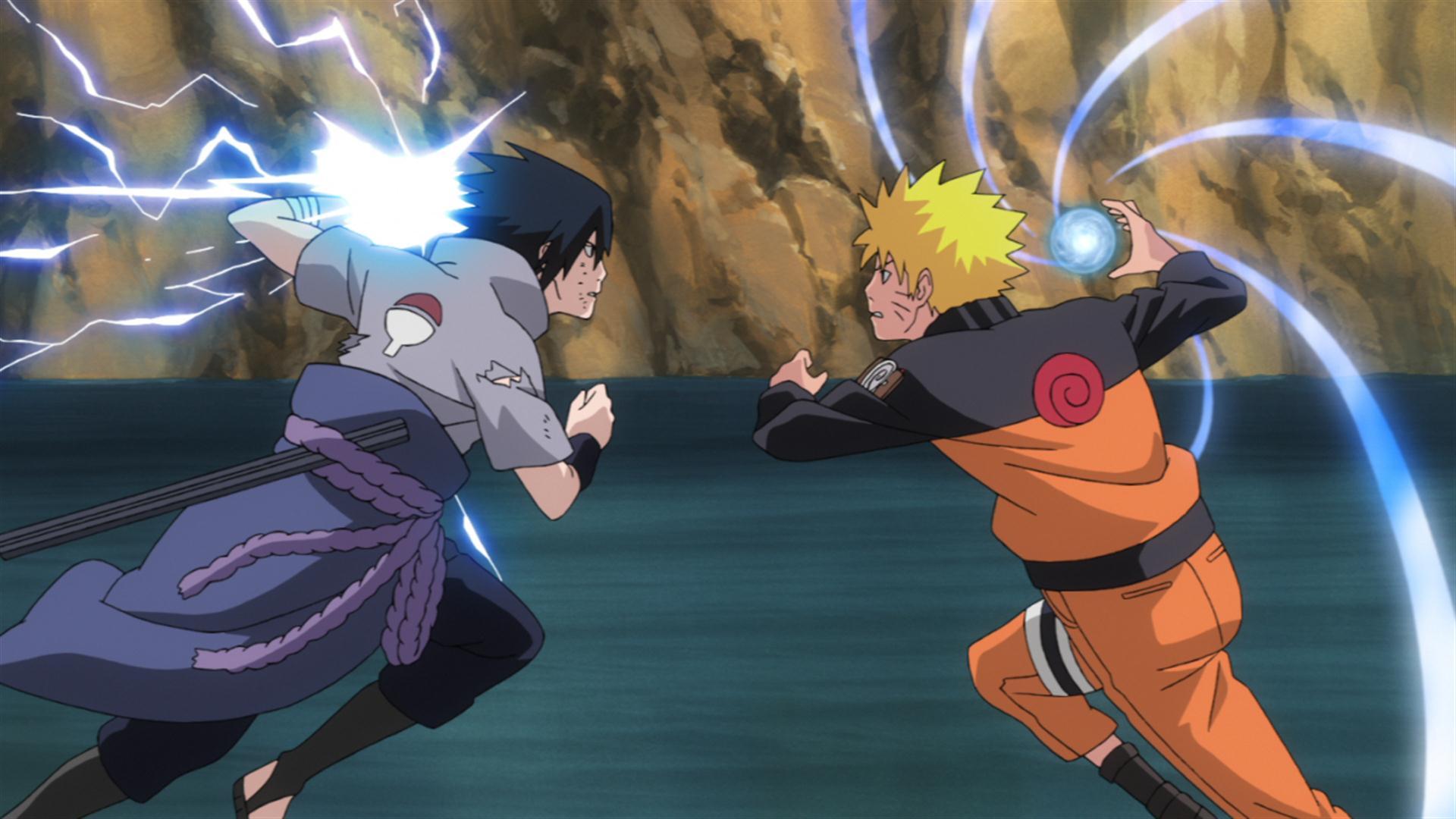 Naruto Sasuke Uchiha & Naruto Uzumaki