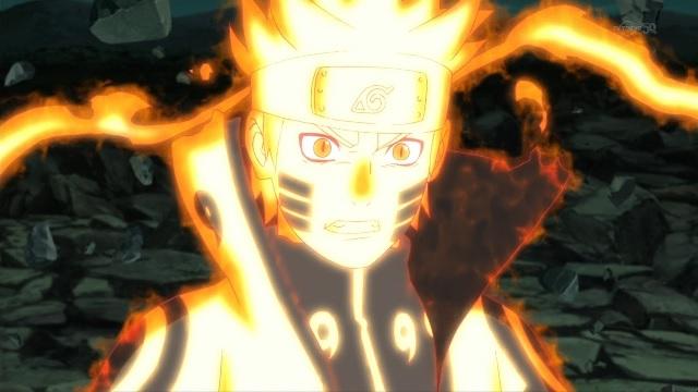 Naruto Shippuden Naruto Uzumaki Bijuu Mode