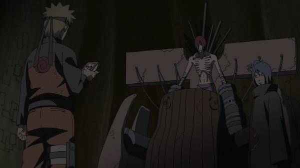 Naruto Shippuden Naruto vs. Pain Nartuo Uzumaki and Nagato