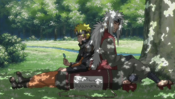 Naruto Shippuden Naruto Uzumaki and Jiraiya
