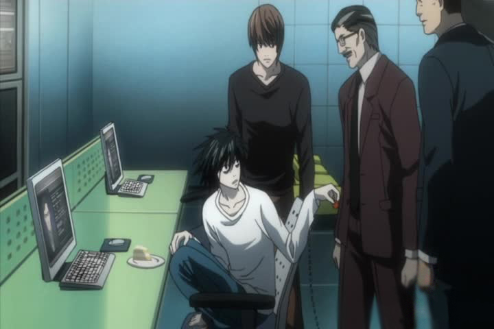 Death Note L Japanese Taskforce