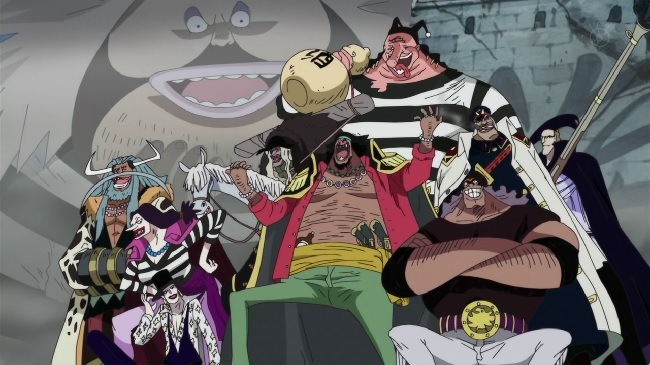 One Piece Blackbeard Pirates
