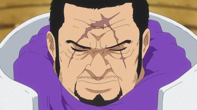 Fujitora from the One Piece New World Saga and Dressrosa Arc