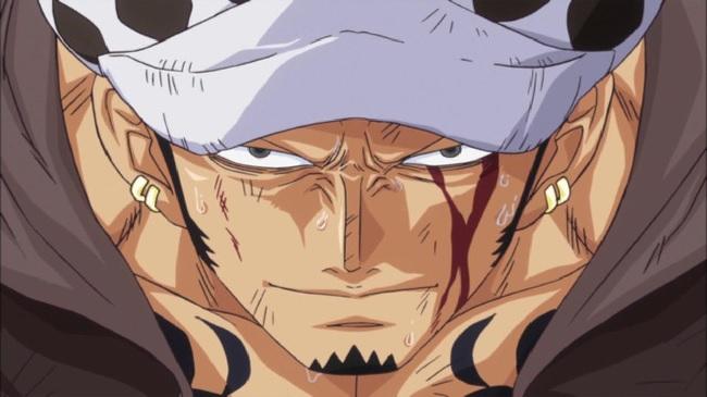Trafalgar Law from the One Piece New World Saga and Dressrosa Arc