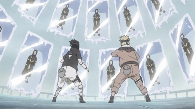 Naruto Haku Ice Release