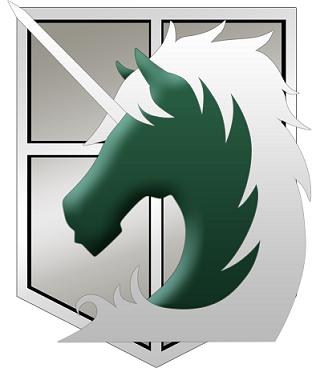 Shingeki no Kyojin Military Police Logo