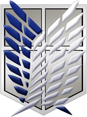 Shingeki no Kyojin Survey Corps Logo