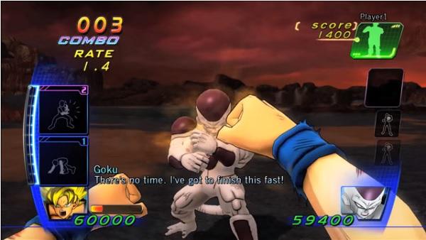 Dragon Ball Z kinect