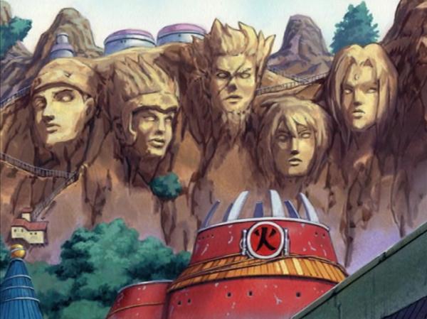 Naruto Hokage Monument