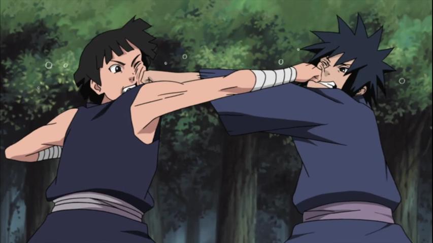 madara vs hashirama Naruto Shippuuden
