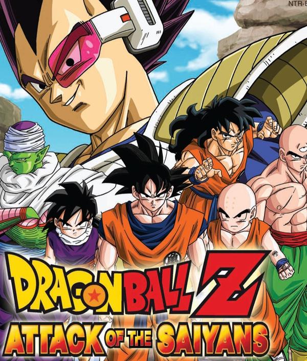 Dragon Ball Z, Attack of the Saiyans video game