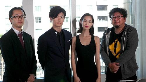 Attack on Titan: Part 2 The End of the World Crew Cast Shinji Higuchi Haruma Miura and Kiko Mizuhara