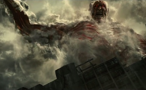 Attack on Titan: Part 2 The End of the World Cast Characters titan screenshot