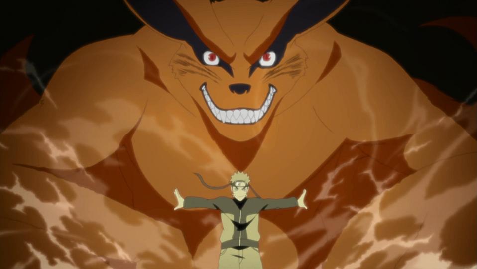 Naruto Kurama Kyuubi Nine-tails