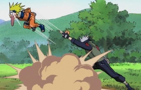 Naruto, Uzumaki Naruto and Hatake Kakashi