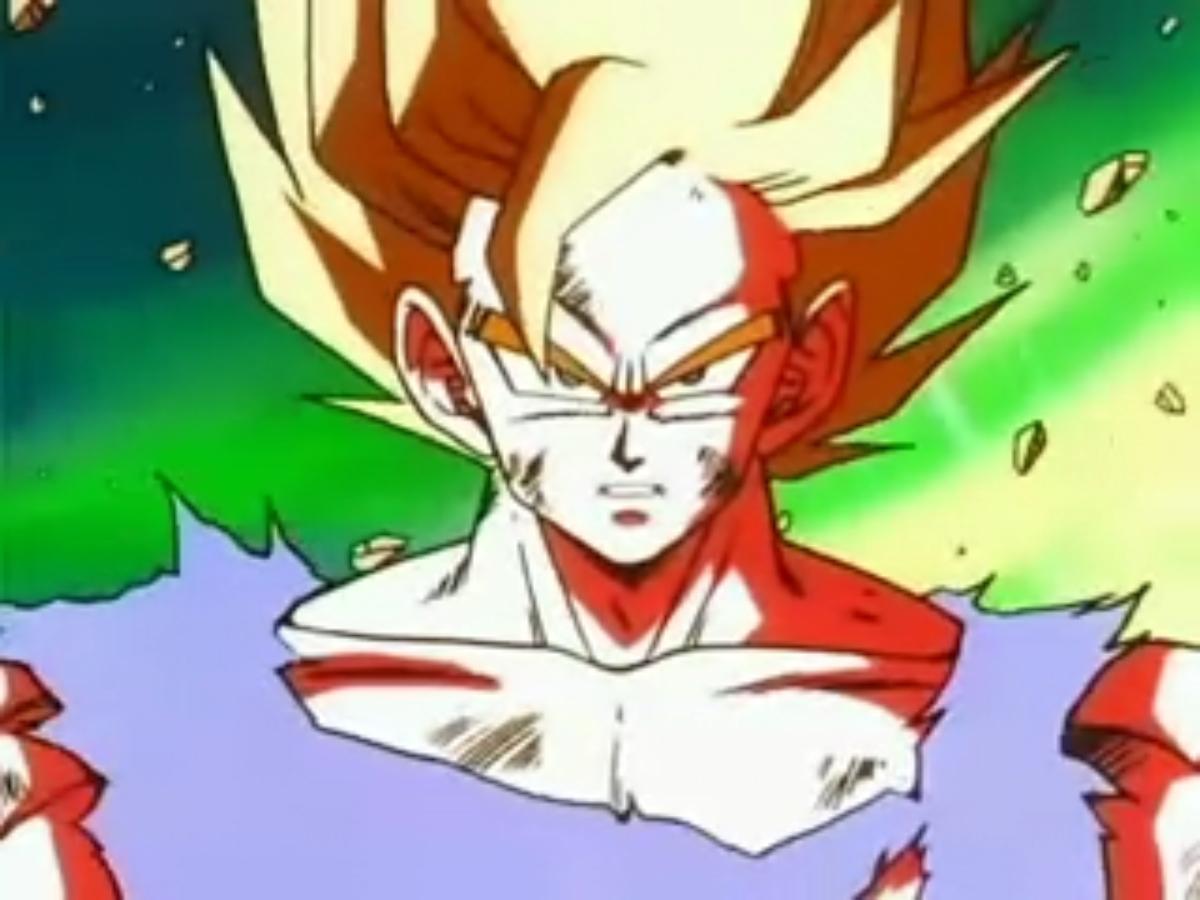 Dragon Ball Z Super Saiyan Goku
