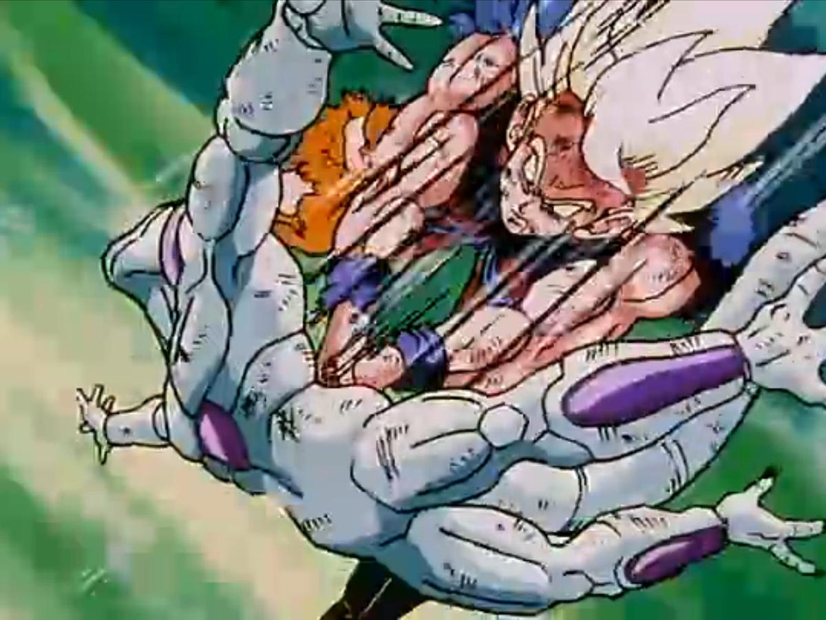 Dragon Ball Z Goku and Frieza