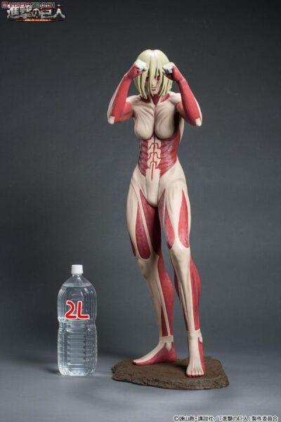 Attack on Titan figures female titan