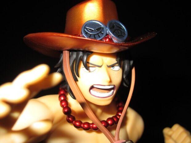 One Piece Portgas D. Ace Metallic