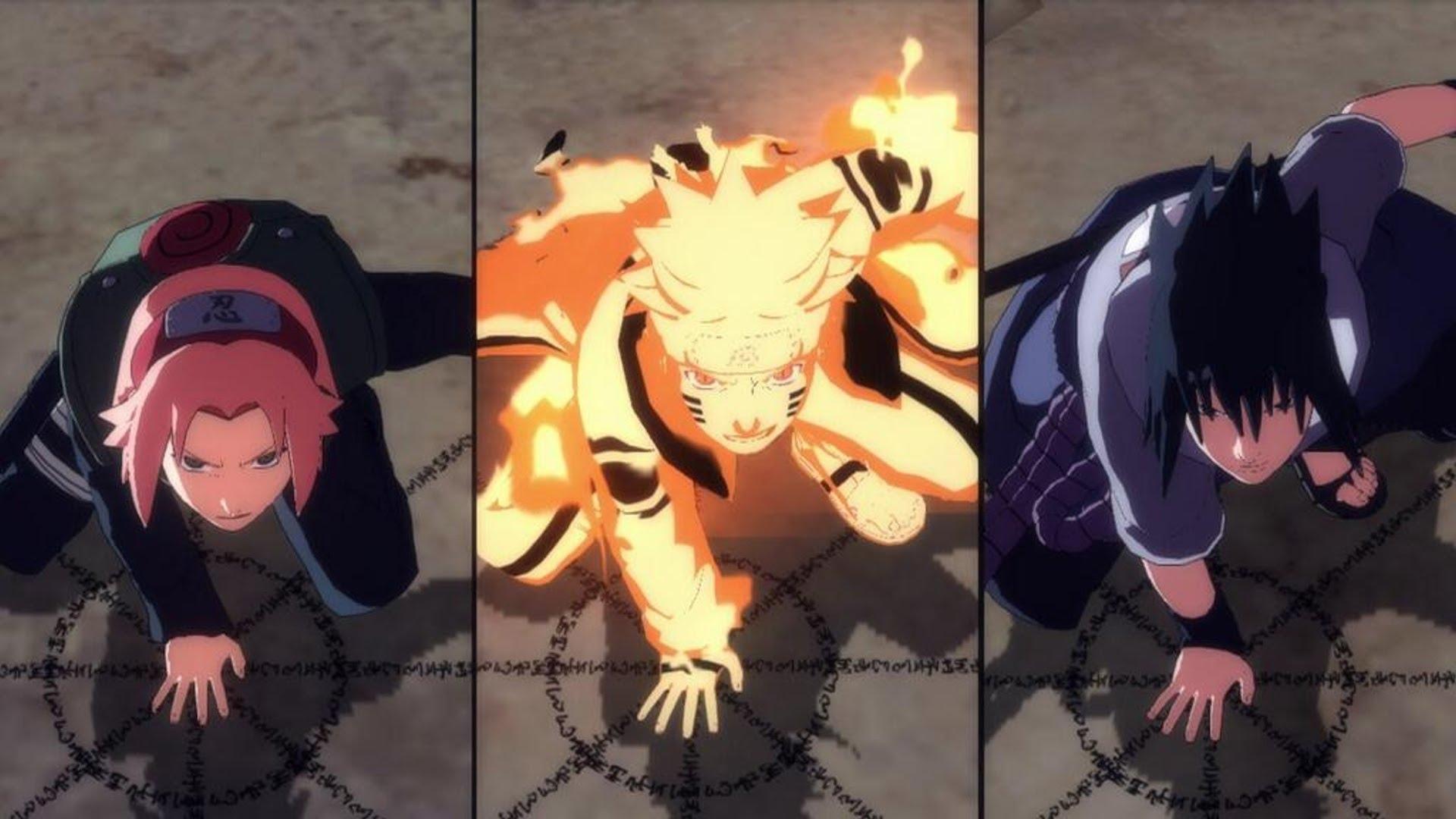 One Piece vs Naruto Team 7