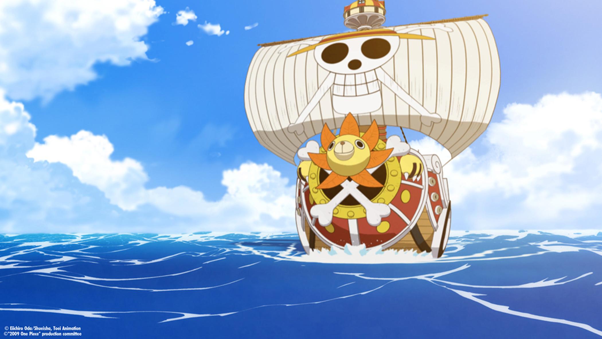 One Piece vs Naruto Thousand Sunny