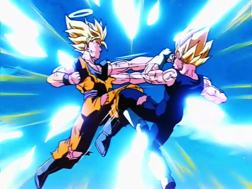 Dragon Ball Z, Goku, Vegeta
