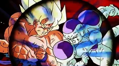 Dragon Ball Z, Goku, Frieza