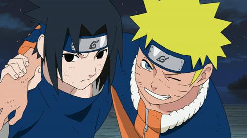 Naruto, Naruto Uzumaki, Sasuke Uchiha