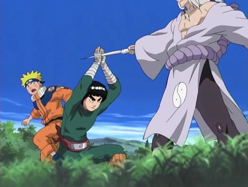 Naruto, Naruto Uzumaki, Rock Lee