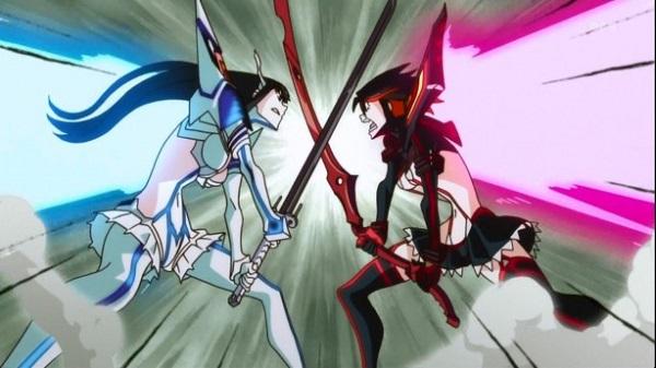 Kill la Kill Scissor Blade Ryuuko Matoi Satsuki Kiryuuin