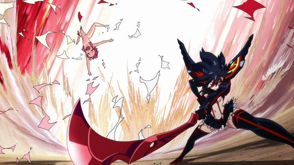 Kill la Kill Scissor Blade Ryuuko Matoi Nonon Jakuzure
