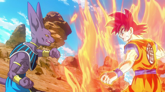 Dragon Ball Super, Goku, Beerus
